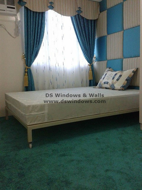 Broadloom Carpet For A Modern Classic Bedroom Design: Palm Village Makati City Philippines