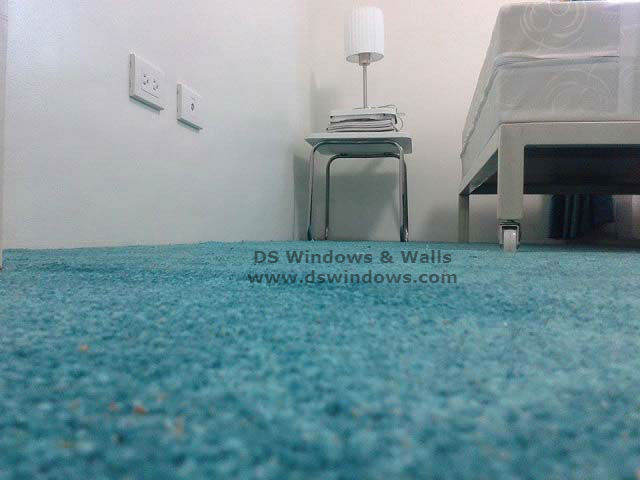 Condo 24 113 Mint Cut-pile Carpet Installed in Palm Village, Makati City Philippines