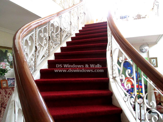 Installed Red Carpet For Stairs Glamorous Makeover - Ayala Heights, Quezon City