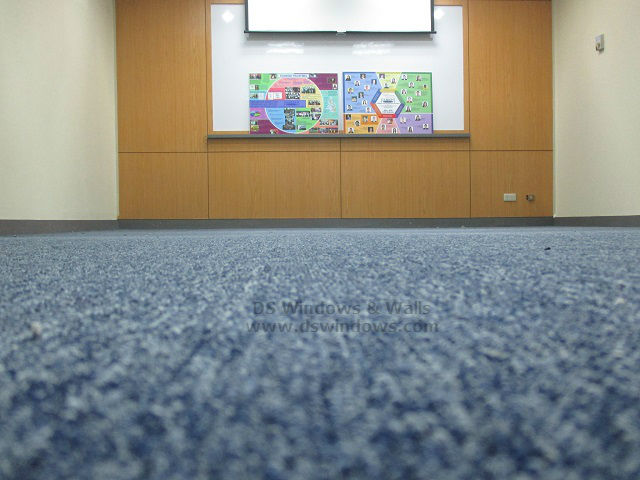 Carpet Roll Installed at Bonifacio Global City, Taguig Philippines