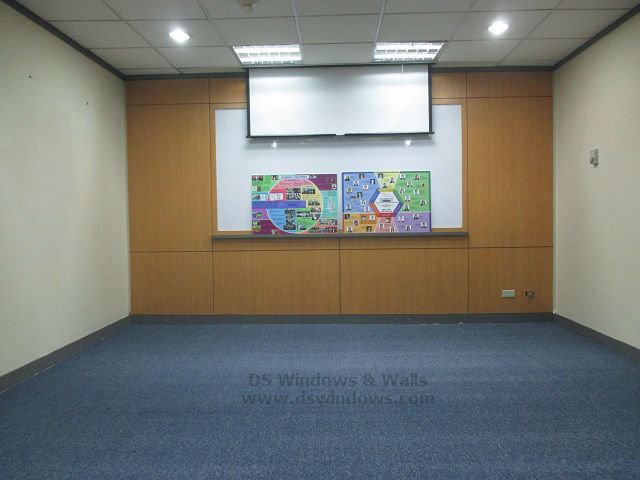 Carpet Roll Installed in a Training Room at Bonifacio Global City, Taguig Philippines