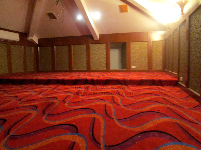 Cut Pile Carpet for Home Theater and Entertainment Room Pasay City Philippines