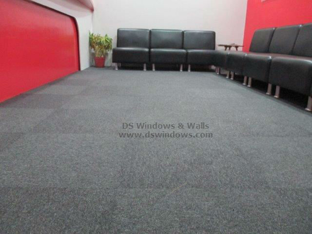 Checkered Carpet Tiles For Professional Looking Reception Areas: Mandaluyong City, Philippines
