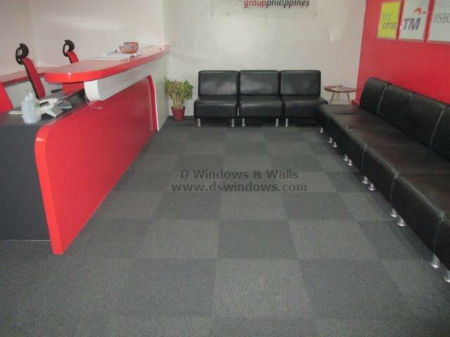 Carpet Tile for Reception Areas - Mandaluyong City, Philippines