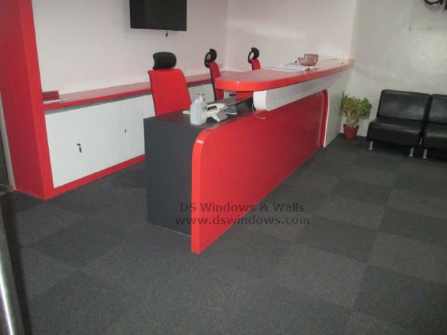 Carpet Tiles for Comfortable and Inviting Reception Area - Mandaluyong City
