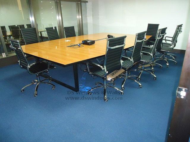 Carpet Tiles Over Ceramic Tile for Office Improvements: Bonifacio Global City