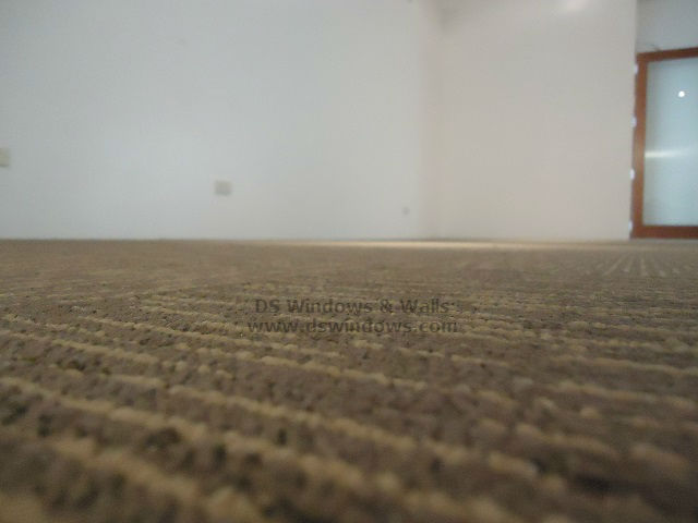 Textured Loop Pile Carpet Tiles Installed For A New