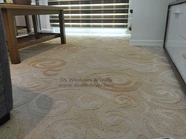 Broadloom Carpet with Design for Masters Bedroom - Taguig City, Philippines