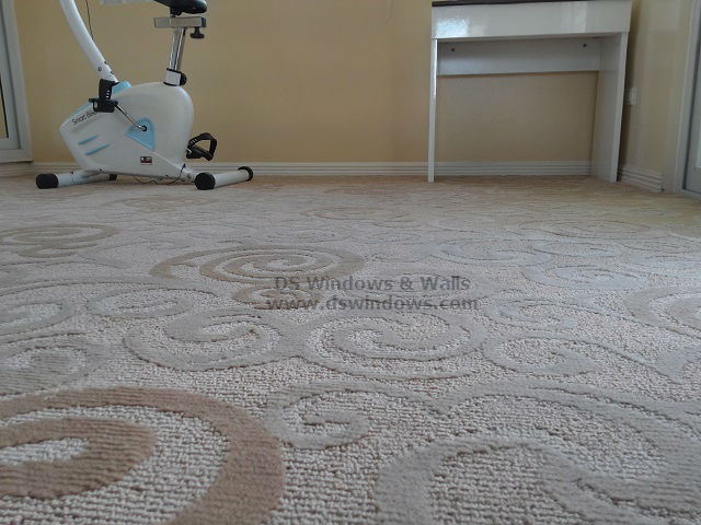 Carpet with Design installed at Taguig City, Philippines