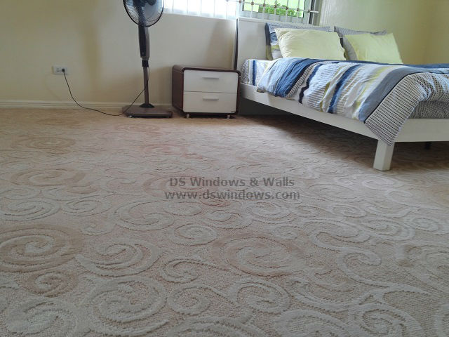 Broadloom Carpet for Romantic Masters Bedroom - Taguig City