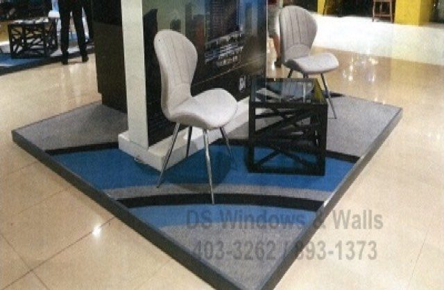 Carpet Designs for Kiosks or Booths in Malls