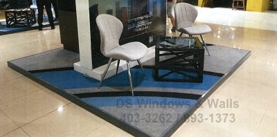 Carpet Kiosk Booth Display