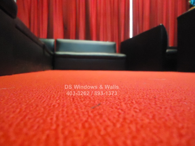 Bright Red Carpet for Night Club Bars