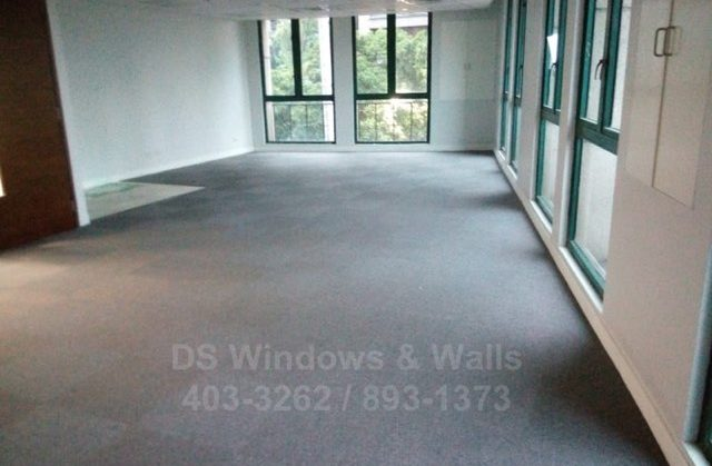Carpet Tiles at BGC Taguig : Installation Methods and Orientation